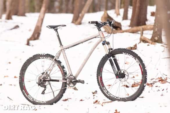 Lynskey MT650 titanium mountain bike made in the USA
