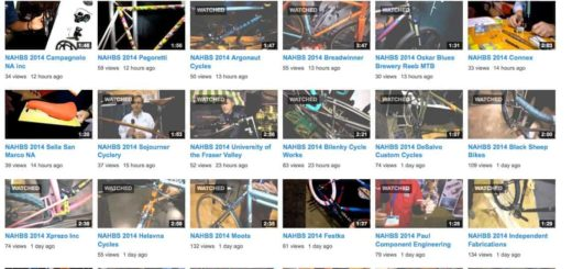 2014 NAHBS Mountain Bike Videos