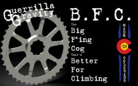 Guerrilla Gravity B.F.C cog