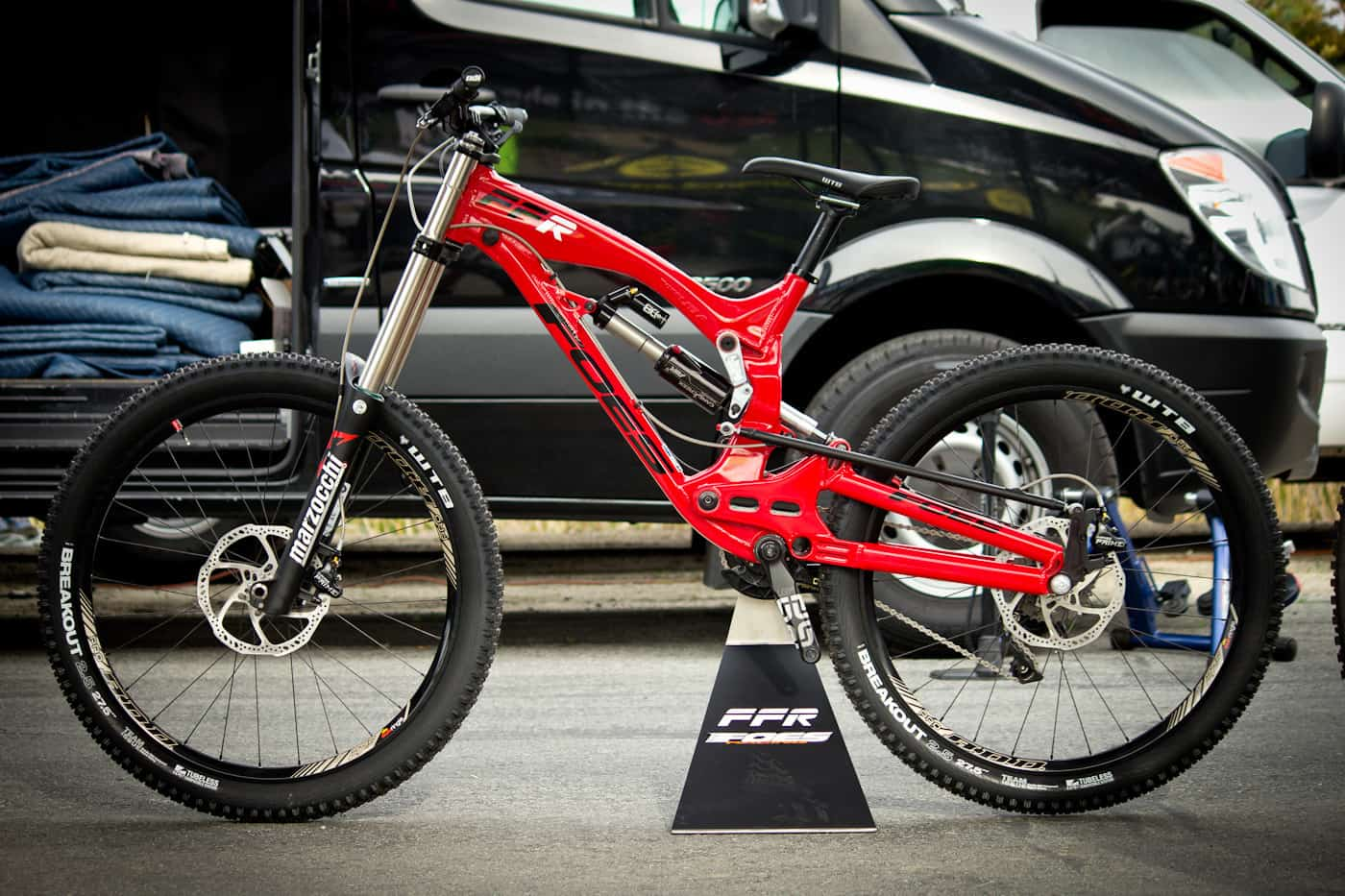 2015 Foes Ffr Prototype 27 5 Downhill Mountain Bike Made