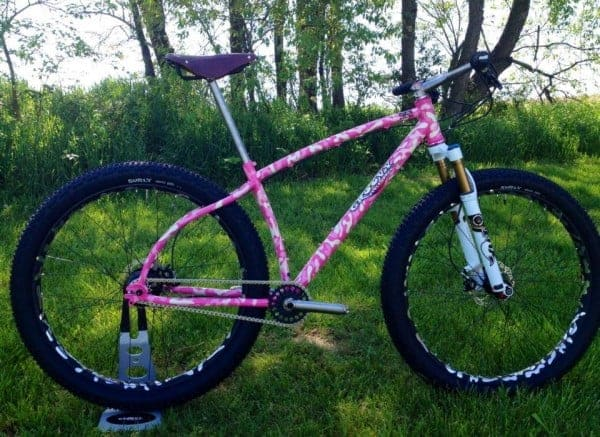Groovy Cycleworks custom hardtail