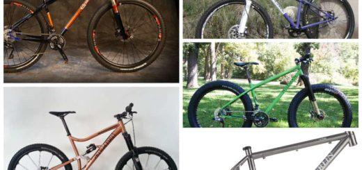 American mountain bike frame builder update