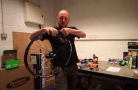 How-To Set Up Ghetto Tubeless On A Mountain Bike Video