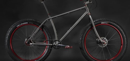 Moonmen #M00 titanium fat bike