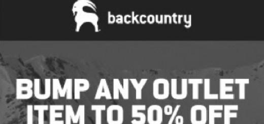 Backcountry.com 50% Coupon