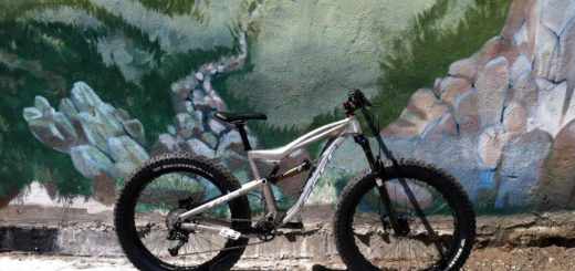 Foes full suspension fat bike