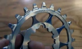 2015 Wolf Tooth stainless direct mount SRAM chainring