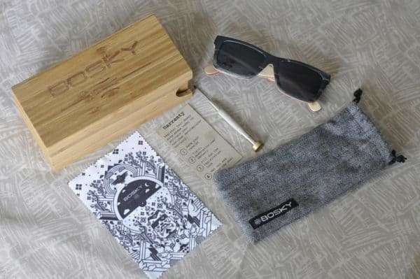 Bosky Phantasmo sunglasses contents