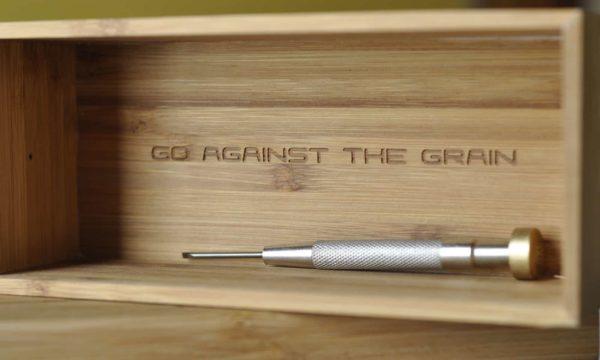 Go against the grain
