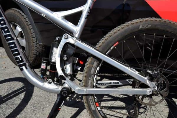 unique Speedgoat suspension design