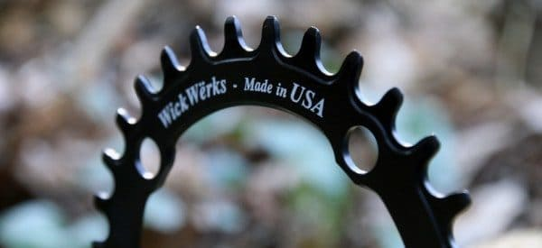 WickWerks Z-ring narrow wide chainring