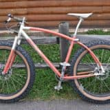 single speed fat bike by Inglis/Retrotec