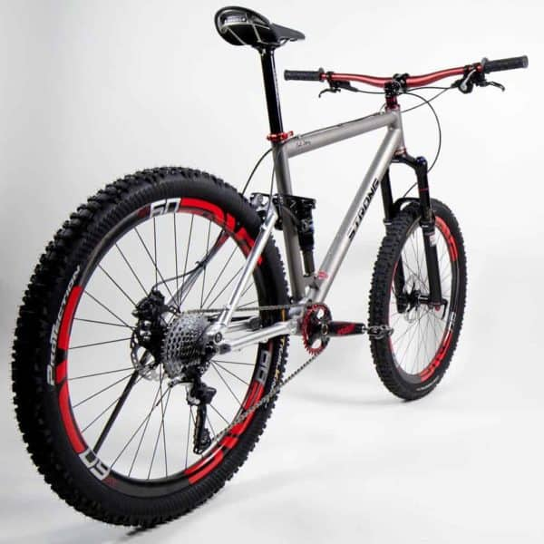 titanium full suspension by Strong Frames