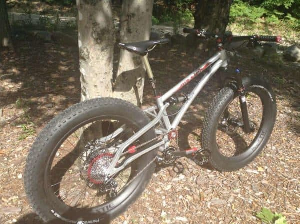 Wraith full suspension fat bike