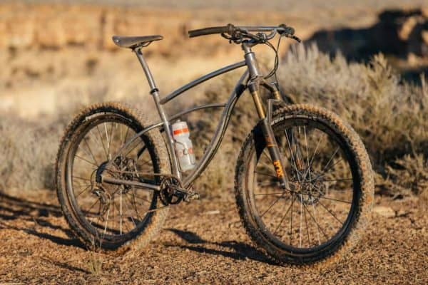 sick Oddity 27.5+ titanium hardtail